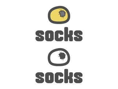 Logo for socks reseller