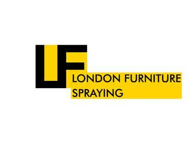 LOGO. LONDON FURNITURE SPRAYING.
