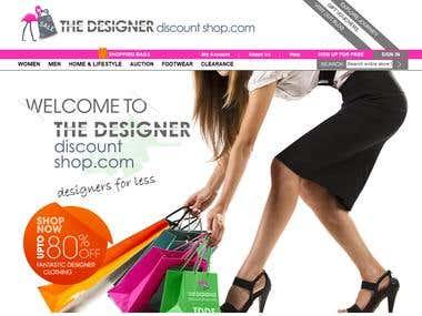 Magento Designer Shop