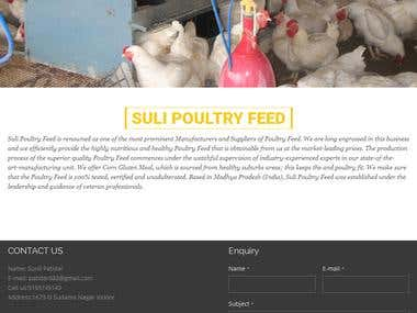 Suli Poultry feed