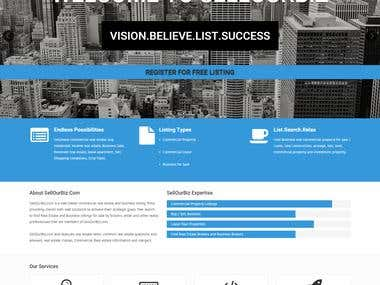 SellOurBiz USA Realestate Lisiting Web App