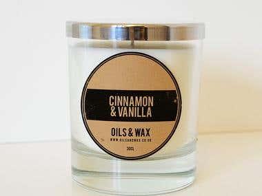 Oils & Wax - Branding Design