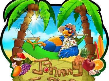 Jhonny Tropics Logo