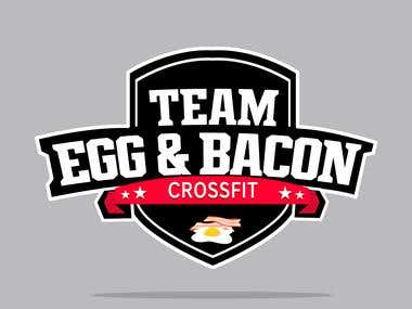 Cross-fitTeam Badge