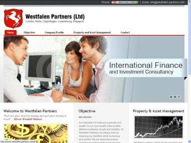 WestFalen Partners Static Website