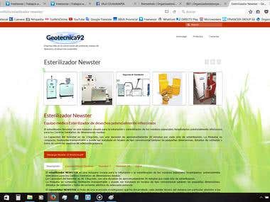 Wordpress Portafolio Website fully responsive