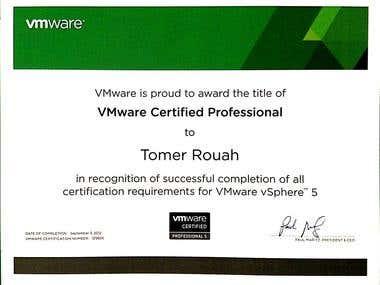 VMWARE VCP5