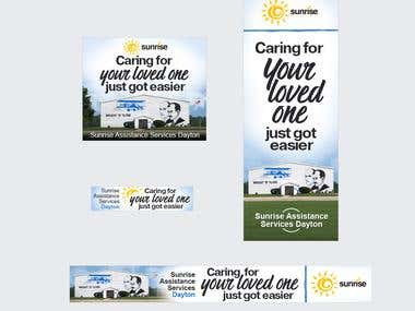 Banners set 4