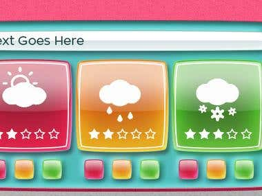UI design