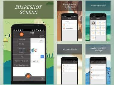 ShareShot Screen