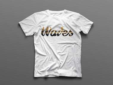 Lettering, T-shirt design