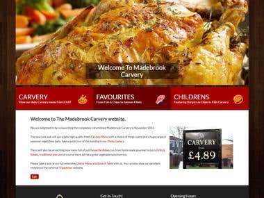Madebrook Carvery Website