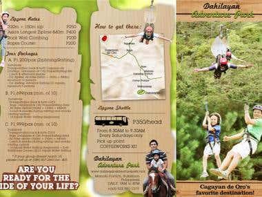 Dahilayan Adventure Park Brochure