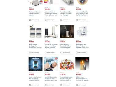 Sears Store Listing Catalog Management, Optimiztion