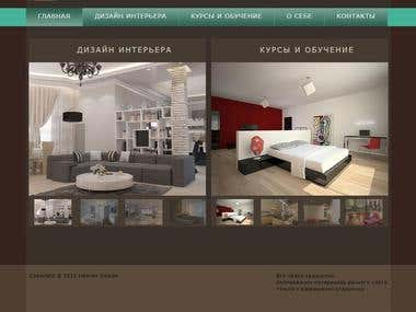 Voloshina.md website