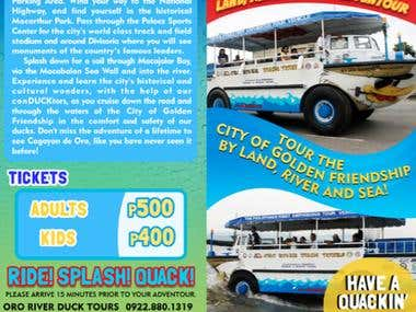 Oro River Duck Tours Brochure