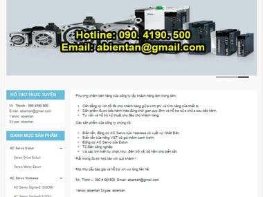 Vietnamese online shop