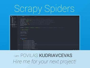 Scrapy Spiders