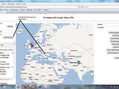 Google Maps Integration