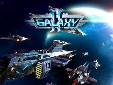 Android Galaxy Game