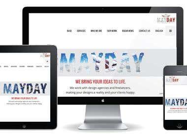 Mayday website