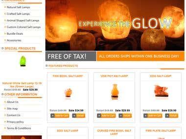 Salt lamp paradise website