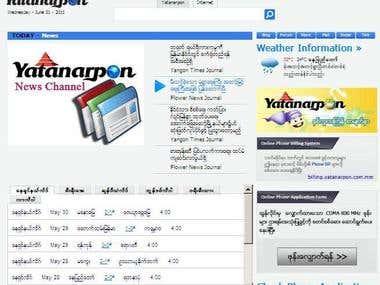 www.yatanarpon.com.mm (Web portal)
