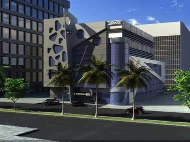 OFFICE BUILDING (CONCEPT DESIGN)