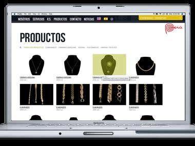 Arinsa website