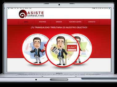 Asiste Consulting Website