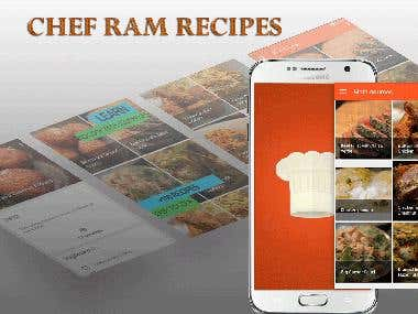Android Cook App Developer
