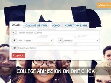 Education Web Portal