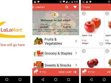 LalaKart: E-commerce Android Application