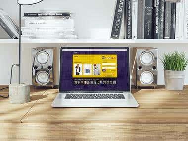 Trat.im social network — UI/UX design