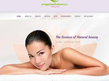 Spa Website