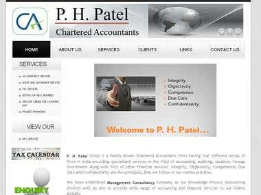 Website For chartered accountant
