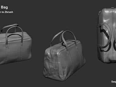 3D modelling & texturing.