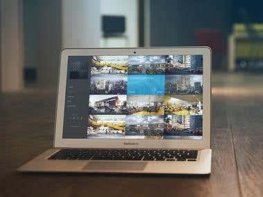 Interior & Exterior designing company website
