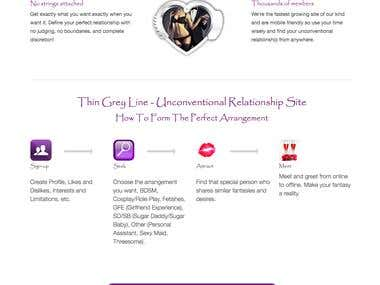 US Dating website