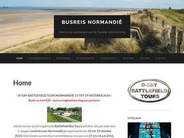 Busreis Normandie: Battlefield Tour oktober & Juli 2016
