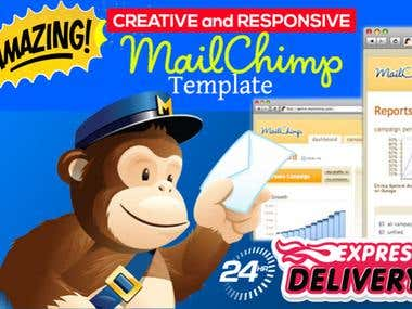 AMAZING Mailchimp Newsletter