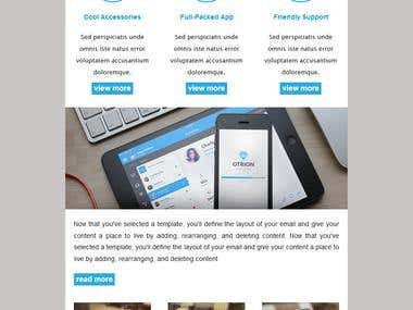 Responsive MailChimp Template