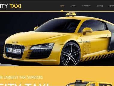 Responsive Taxi Web Templates