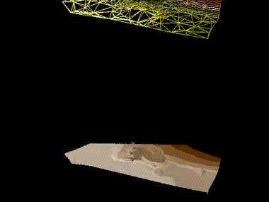 Digital terrain model