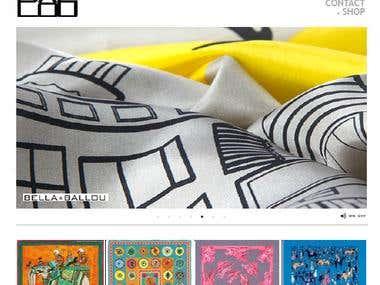 Magento store: http://www.bellaballou.dk/