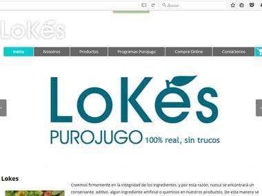 Tienda virtual para purojugo.com