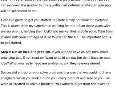 A Guide to Mobile App Development