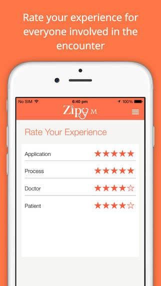 Zipy Nurse Medical field iPad & iPhone application