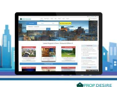 Website for Online Property Portal