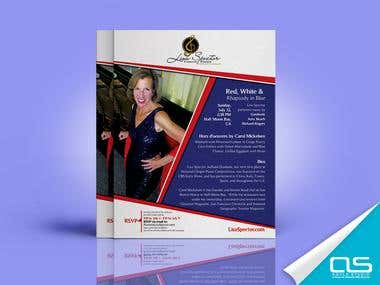 Flyer Design (single page)